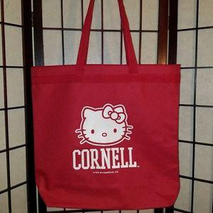 Hello Kitty Cornell University Tote Bag Like New